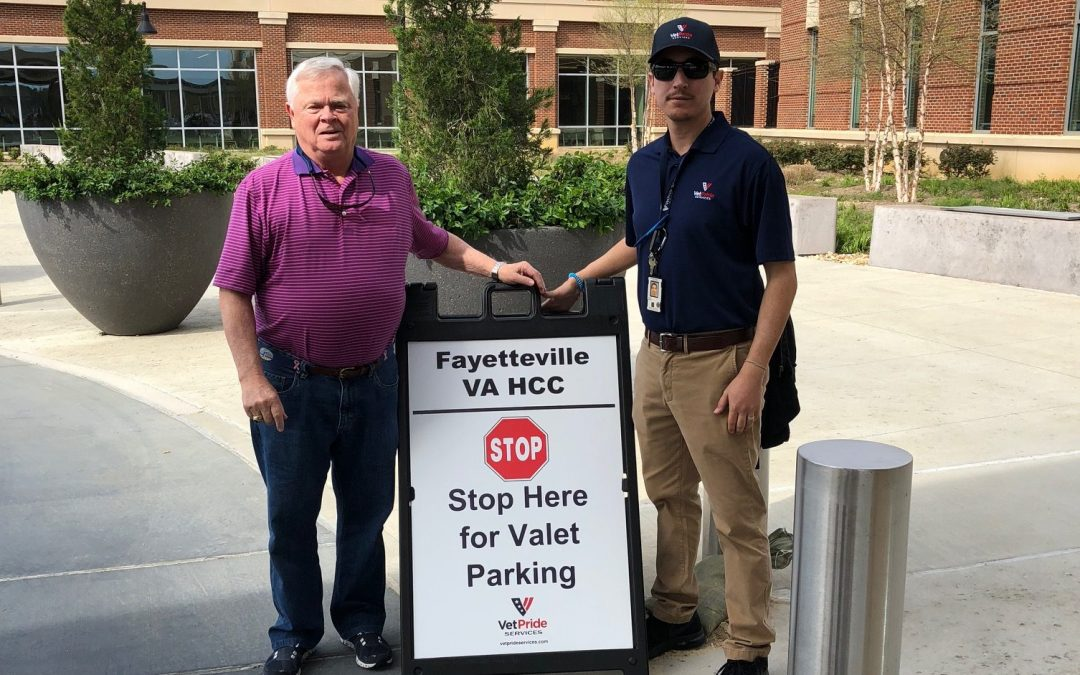 VetPride Awarded Fayetteville VA HCC Valet Parking Contract